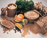 Fiber-rich foods and grains are also important to intestinal health.